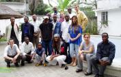 Geburtstagsfeier mit unserer Bibel Studien Gruppe.