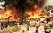 (2) Vesnice v plamenech sev.-východ Konga, 2018