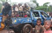 8. Overcrowded jeep from Mushapo to Tshikapa