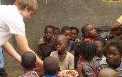21. 2007: DR Congo, Kinshasa, feeding program